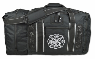 Lightning X Quad-Vent Turnout Gear Bag - BLACK