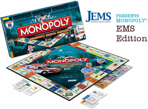 Limited Edition EMS Monopoly Board Game GREAT GIFT!