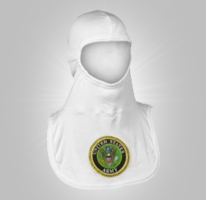 Majestic Fire Apparel Embroidered Hood Army