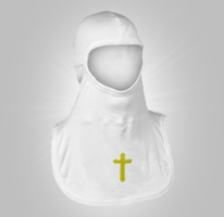 Majestic Fire Apparel Embroidered Hood Cross
