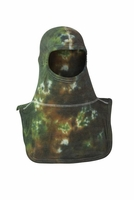 Majestic Fire Apparel Fire Hood Green Tie Dyed