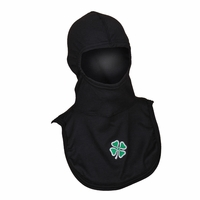 Majestic Fire Embroidered 4 Leaf Clover P84 Black PAC II Hood