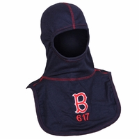 "Majestic Fire Embroidered ""B 617"" Navy Blue 100% Nomex PAC II Hood"