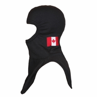 Majestic Fire Embroidered Canadian Flag on Black P84 PAC II Hood