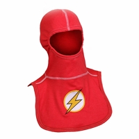 Majestic Fire Embroidered Flashperson P84 Red PAC II Hood