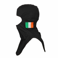 Majestic Fire Embroidered Irish Flag P84 Black PAC II Hood