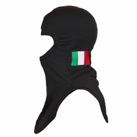 Majestic Fire Embroidered Italian Flag P84 Black PAC II Hood