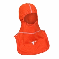 Majestic Fire Embroidered Longhorns Orange PAC II Hood