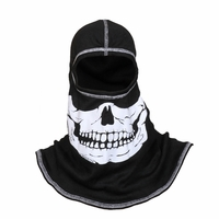 Majestic Fire - Fire Ink White Skull W/White Trim PAC F20 Hood