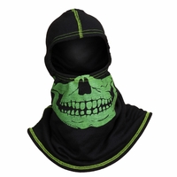 Majestic Fire - Fire Ink Yellow Skull W/High Vis Trim Black PAC F20 Hood