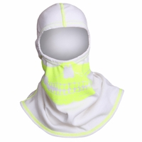 Majestic Fire - Fire Ink Yellow Skull W/High Vis Trim White PAC F20 Hood