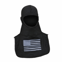Majestic Fire PAC II Fire Ink C6 Black Hood W/Grey Flag