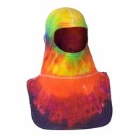 Majestic Fire Tie-Dye Multi Color PAC II Hood