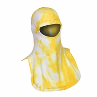 Majestic Fire Tie-Dye Yellow & White PAC II Hood
