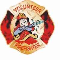 Maltese Cross Volunteer Firefighter