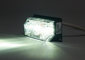 Mini White Spot Light LED3 by Sound Off Signal EL3SSCW