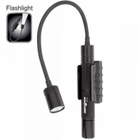 NightStick MT-130 Mini-TAC Gooseneck - 2 AA Black Flashlight