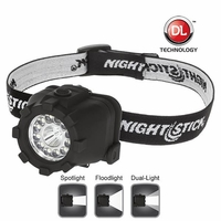 Nightstick NSP-4602B Dual-Light Headlamp