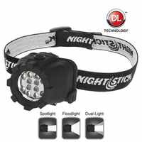 Nightstick NSP-4604B Dual Light Headlamp
