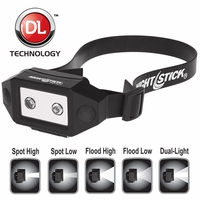 Nightstick NSP-4614B Low-Profile LED Multi-Function Dual-Light Headlamp