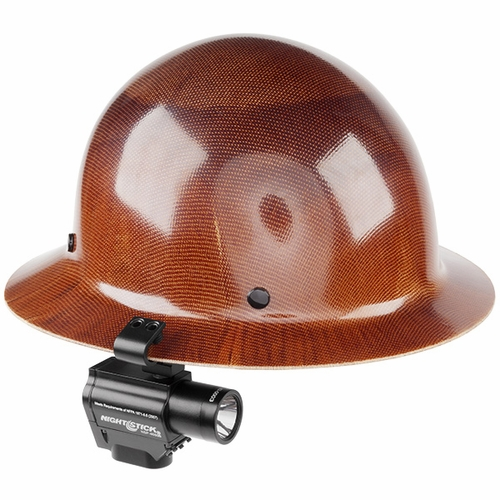 NightStick NSP-4650B Firefighter Helmet Mount Dual Light Flashlight