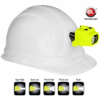 Nightstick XPP-5454GC Intrinsically Safe Multi-Function Dual-Light Headlamp w/Hard Hat Clip