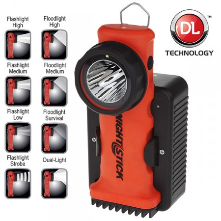 Nightstick Xpr 5572r Intrinsically Safe Dual Light Right