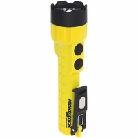 NSP-2424YMX - X-Series Dual-Light Flashlight w/Dual Magnets - 3 AA