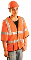 OccuLux Short Sleeve Cool Mesh Vest/ ANSI Class 3