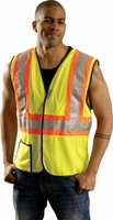 OccuLux Two-Tone Cool Mesh Vest ANSI Class 2