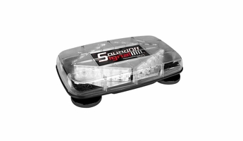 **OPEN BOX** EPL7PDJC SoundOff Signal Pinnacle Permanent Mount Mini Lightbar RED/BLUE
