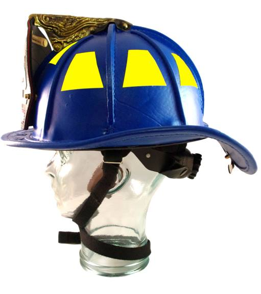 Leather Fire Helmet Traditional Tl2 Phenix Firefighter