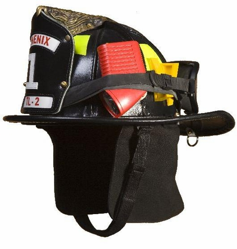 Phenix Traditional Leather NFPA Fire Helmet