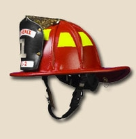 Phenix Traditional Leather OSHA Fire Helmet