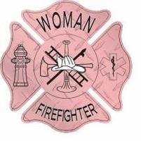 Pink Woman Firefighter