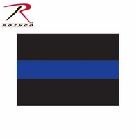 Rothco Thin Blue Line Decal