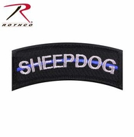 Rothco Thin Blue Line Sheepdog Morale Patch