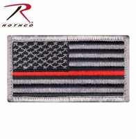 RTH-18889 Thin Red Line US Flag Patch