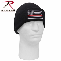 RTH-5433 Rothco Deluxe Thin Red Line Watch Cap