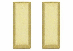 Smith And Warren Collar Brass Insignia -  LT/SMALL/SMOOTH PAIR