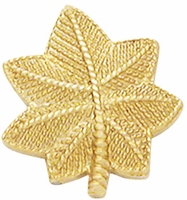 Smith And Warren Collar Brass Insignia -  OAK LEAF SMALL PAIR