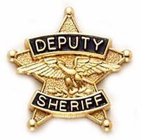 Smith & Warren 5 Point Star Deputy Sheriff Tie Tac