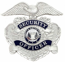 Smith & Warren Security Officer Stock Hat Badge