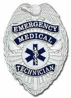 Smith & Warren Stock Badge Emeregency Medical Technician