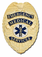Smith & Warren Stock Badge Emergency Medical Services