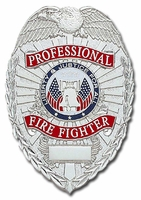 Smith & Warren Stock Badge Professional Firefighter