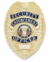 Smith & Warren Stock Badge Security Enforcement Officer