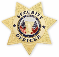Smith & Warren Stock Security Officer Badge