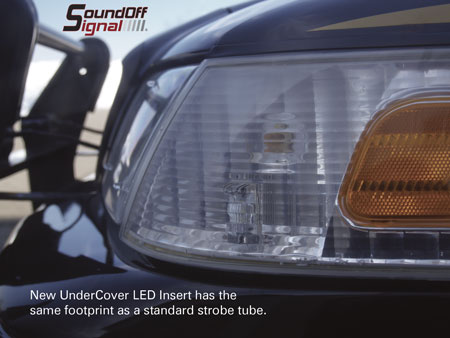 Sound Off Signal LED Hideaway Undercover Kit