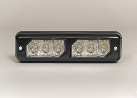SoundOff Bezel, Dual Side-by-Side for  LED3 Mini Lights - Black